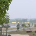Klanginstallation am Bärwalder See