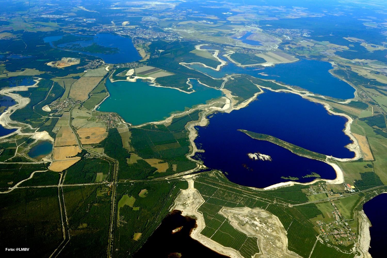Das Lausitzer Seenland.