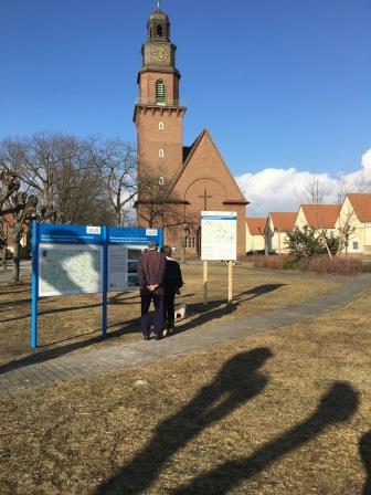 Infotafel Standort Laubusch