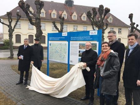 Infotafeln Standort Laubusch